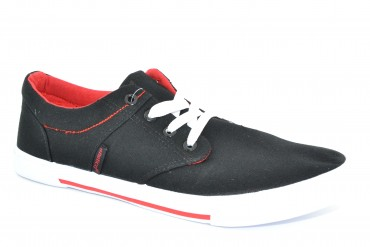 TNSM-1 BLACK/RED ATLETICO pak12p 40-45 1/2 kartonu