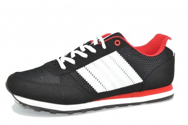 MN20-15 BLACK/WHITE/RED pak12p. 41-46 1/2 kartonu