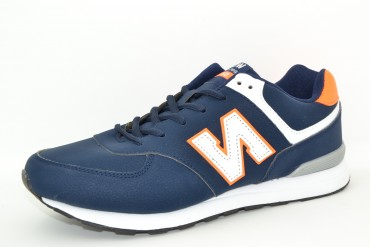 KLF8829-5B NAVY/ORANGE KLF pak8p. 41-46