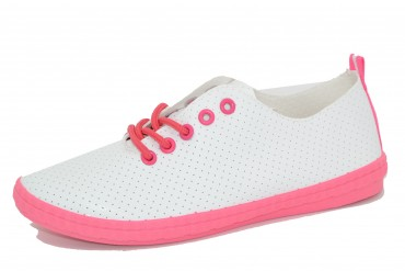 1825A-14 WHITE/NEONPINK COLLECTION pak12p. 36-41 1/2 kartonu
